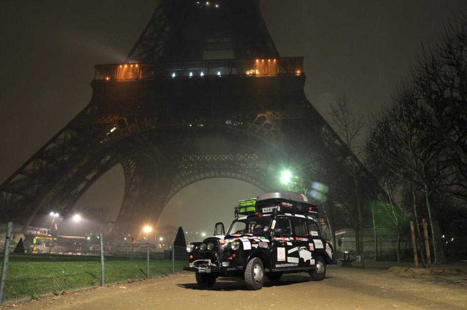 9122 Вокруг света на черном лондонском такси