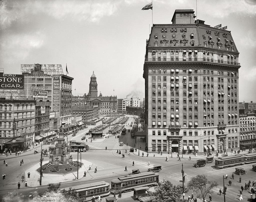 9166 Американские мегаполисы сто лет тому назад