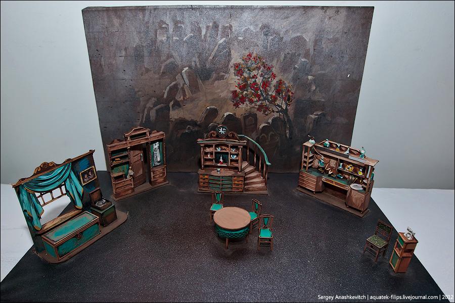 9170 Закулисье или Выставка миниатюрных театральных декораций
