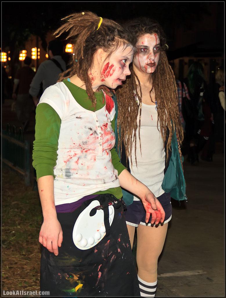 9410 Зомби на улицах Тель Авива – Zombie Walk Tel Aviv