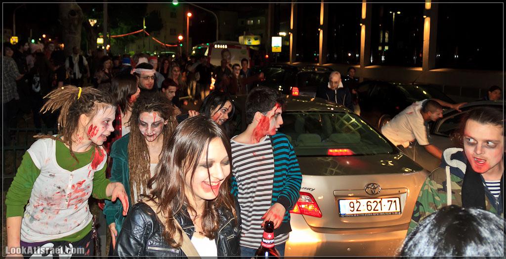 961 Зомби на улицах Тель Авива – Zombie Walk Tel Aviv