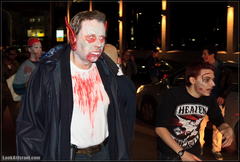 971 Зомби на улицах Тель Авива – Zombie Walk Tel Aviv