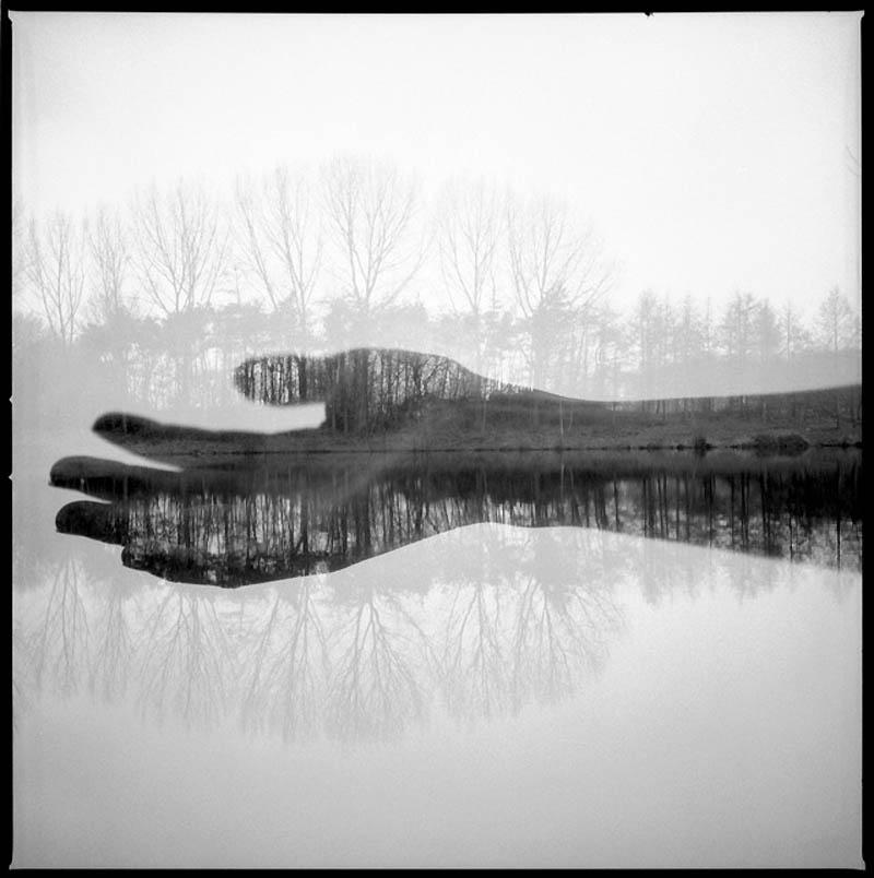 977 Фотографии Флориана Имгрунда с двойной экспозицией