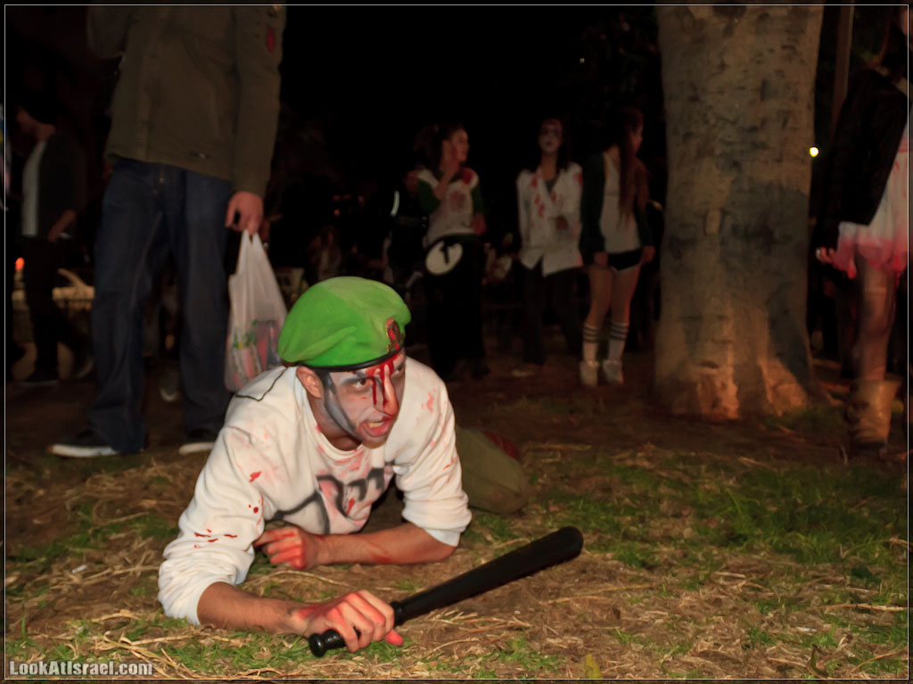 981 Зомби на улицах Тель Авива – Zombie Walk Tel Aviv