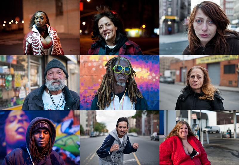 Истории наркозависимых в южном Бронксе
