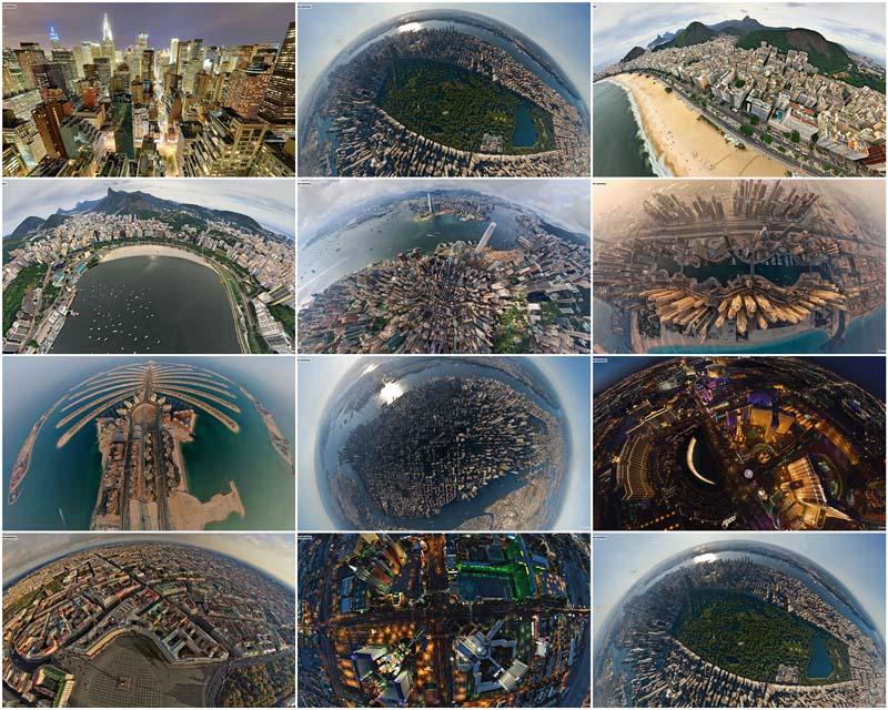 BIGPIC22 Топ 10 панорамных фото городов мира