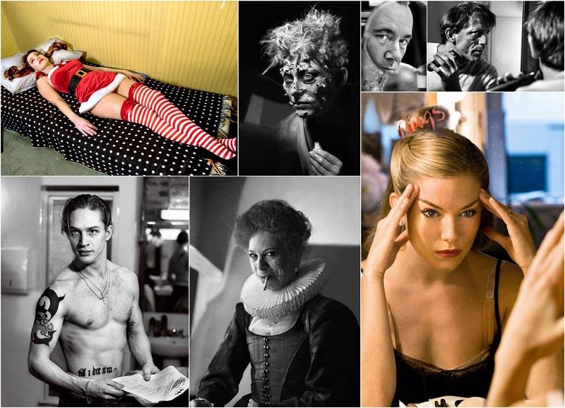 BIGPIC39 Редкие снимки актеров из книги The Half: за 30 минут до выхода на сцену