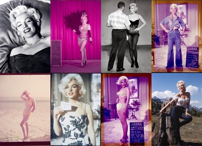 BIGPIC41 Неопубликованные ранее фотографии Мэрилин Монро выставлены на аукционе