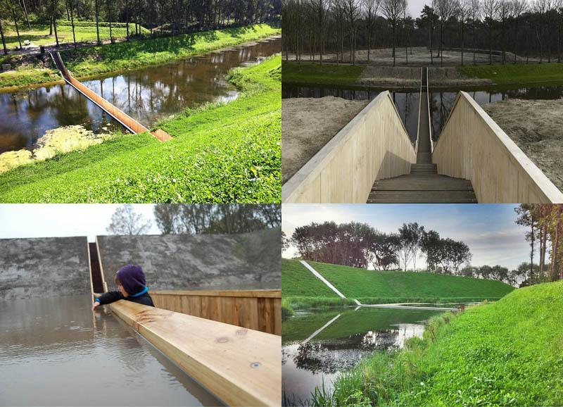 BIGPIC44 Мост Моисея в Голландии получил титул Лучшее сооружение 2011