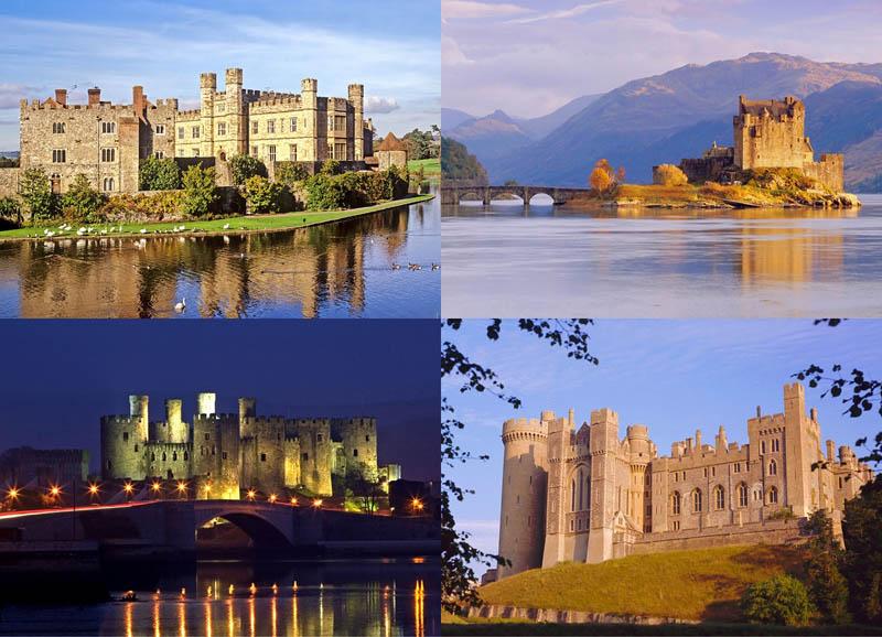 BIGPIC47 Прекрасные замки Британии
