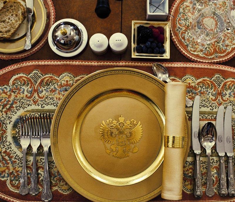 BIGPIC5 Ужин с Владимиром Путиным