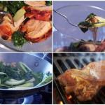 Фоторецепт: Теплый салат с курицей