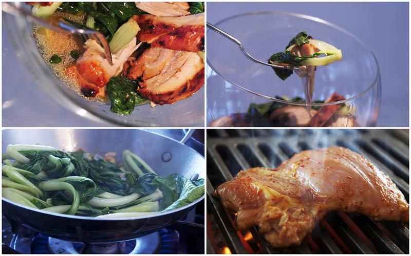 BIGPIC60 Фоторецепт: Теплый салат с курицей