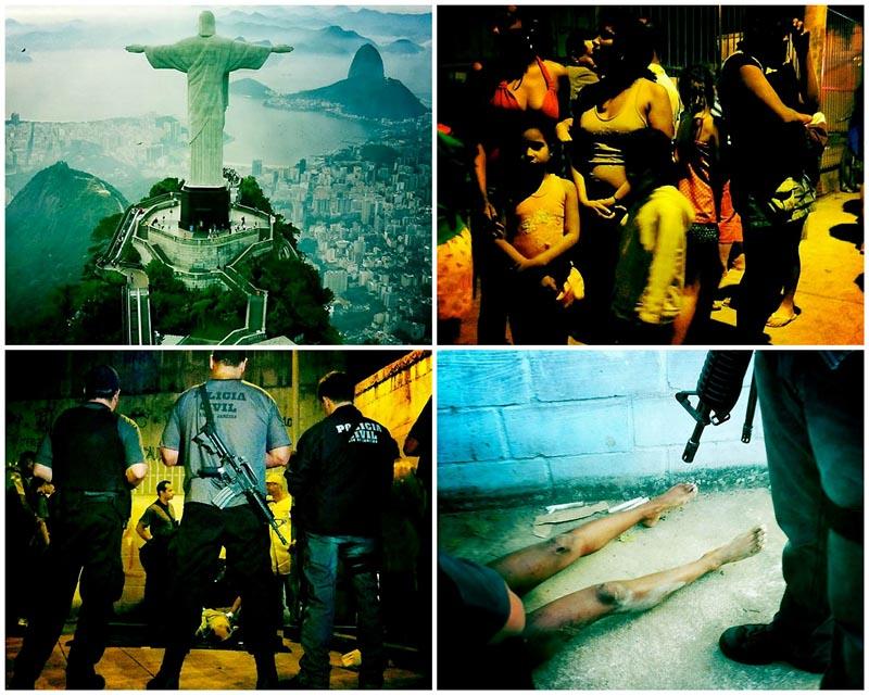 BIGPIC66 Кокакабана: улицы трущоб Рио