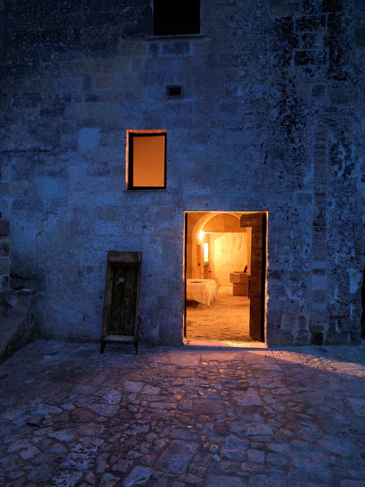after ext 1 Один из лучших отелей мира – в средневековой крепости Матера
