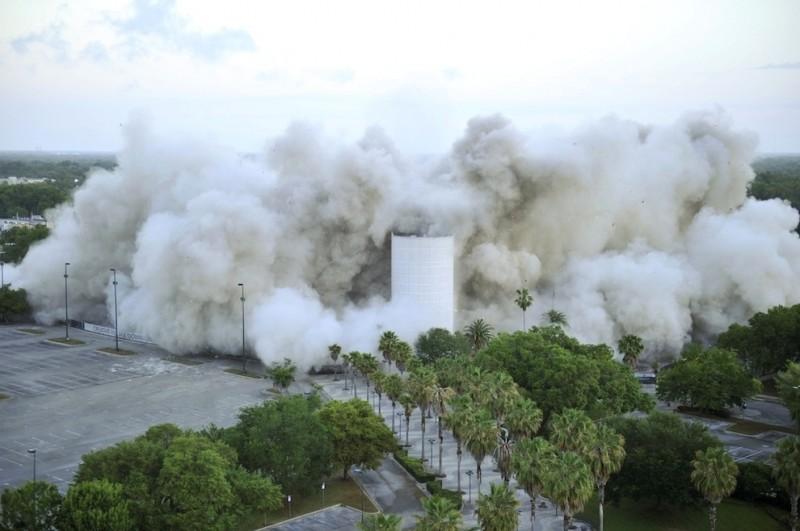 В США взорван стадион «Орландо Мэджик»