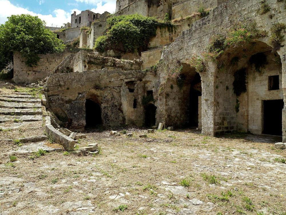 before ext 1 Один из лучших отелей мира – в средневековой крепости Матера