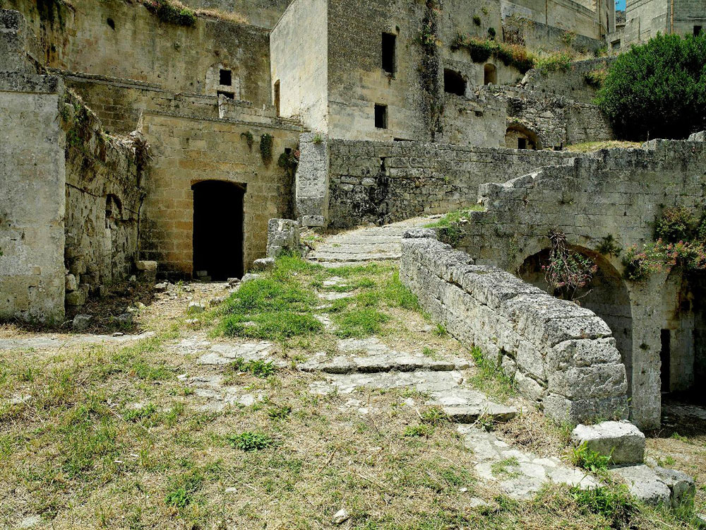 before ext 3 Один из лучших отелей мира – в средневековой крепости Матера