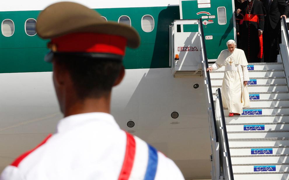 bp119 Папа Бенедикт XVI приехал на Кубу