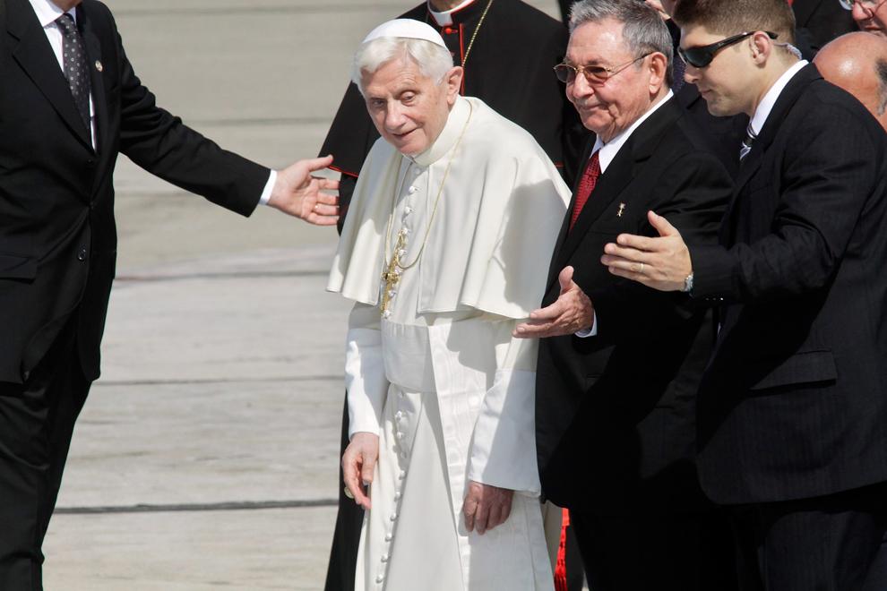 bp125 Папа Бенедикт XVI приехал на Кубу