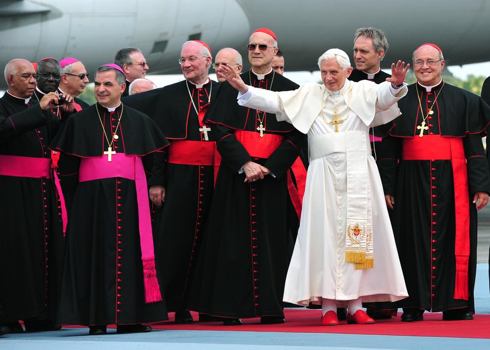 bp135 Папа Бенедикт XVI приехал на Кубу