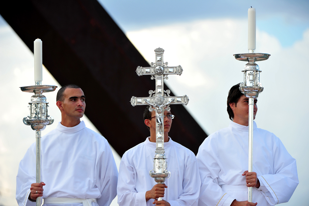 bp165 Папа Бенедикт XVI приехал на Кубу