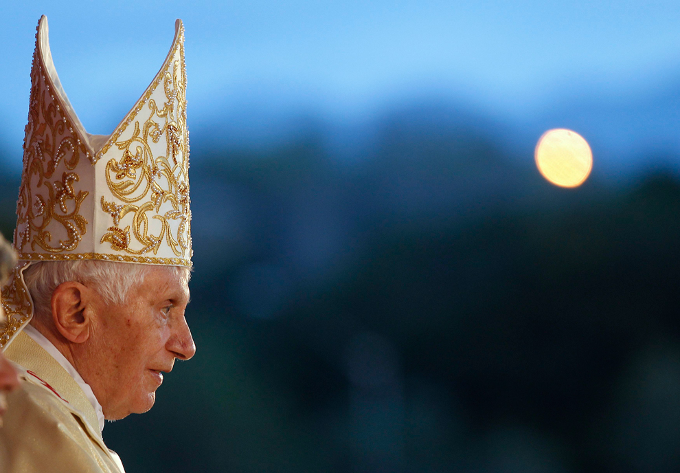 bp219 Папа Бенедикт XVI приехал на Кубу