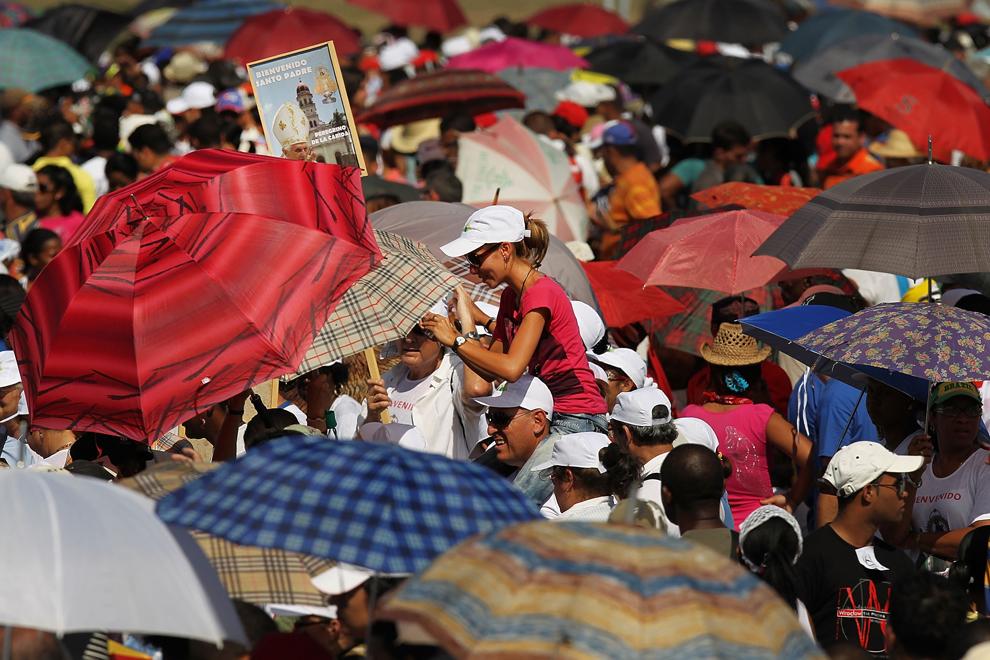 bp233 Папа Бенедикт XVI приехал на Кубу