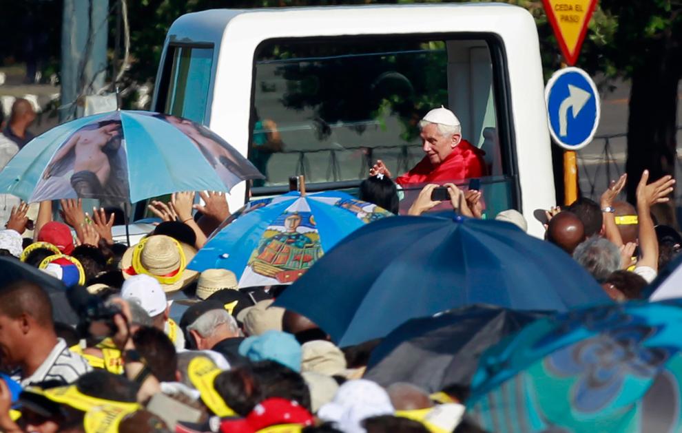 bp253 Папа Бенедикт XVI приехал на Кубу