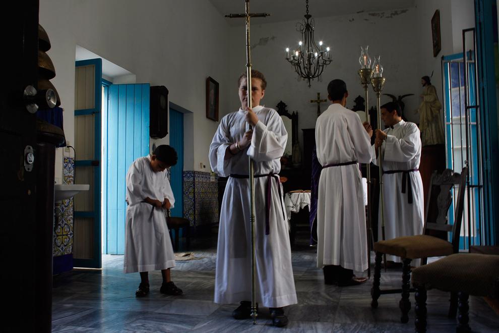 bp302 Папа Бенедикт XVI приехал на Кубу