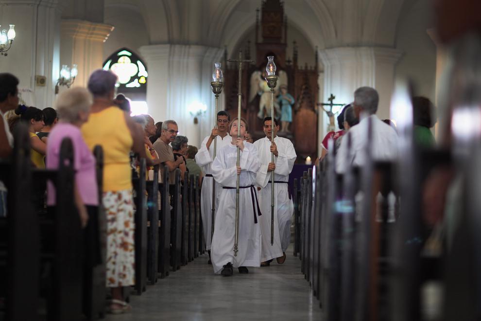 bp332 Папа Бенедикт XVI приехал на Кубу