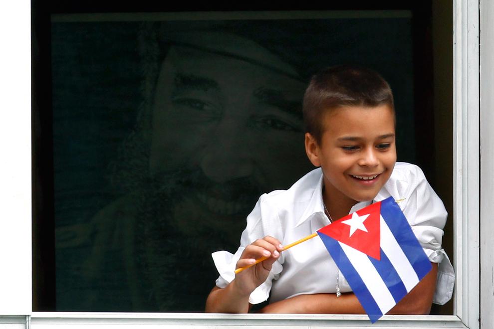 bp452 Папа Бенедикт XVI приехал на Кубу