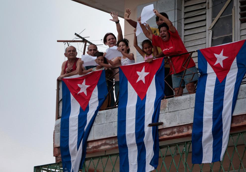 bp472 Папа Бенедикт XVI приехал на Кубу
