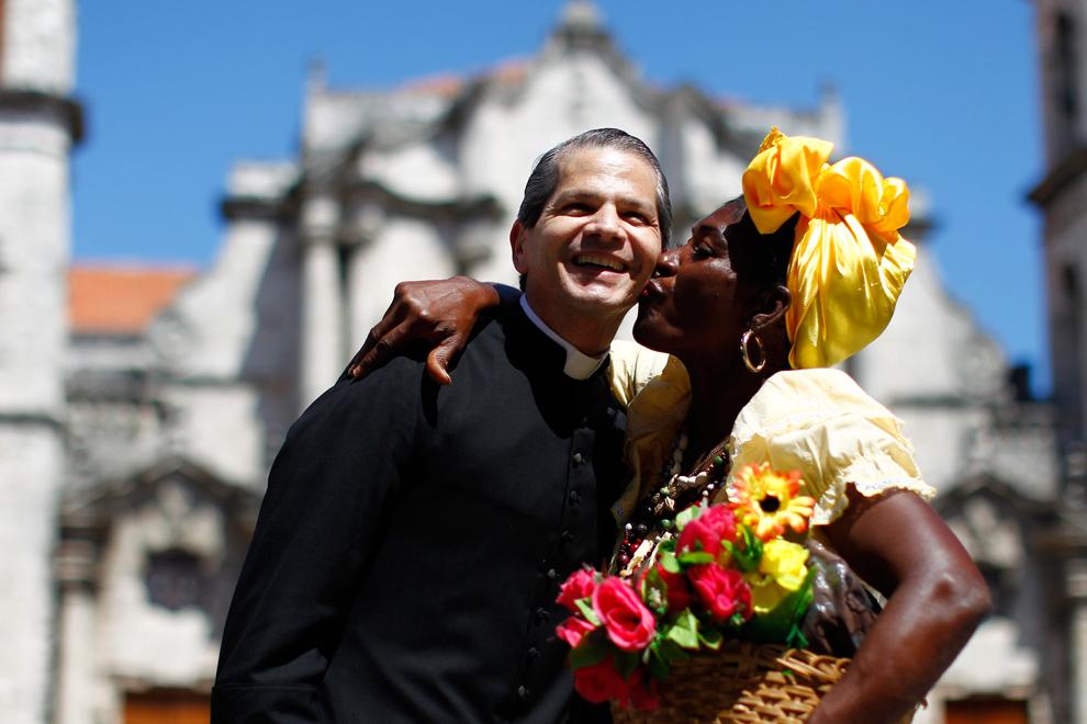 bp65 Папа Бенедикт XVI приехал на Кубу