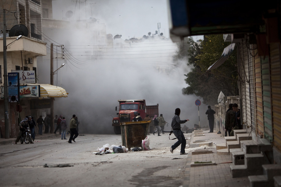 fleeing syria 07 Гражданская война в Сирии
