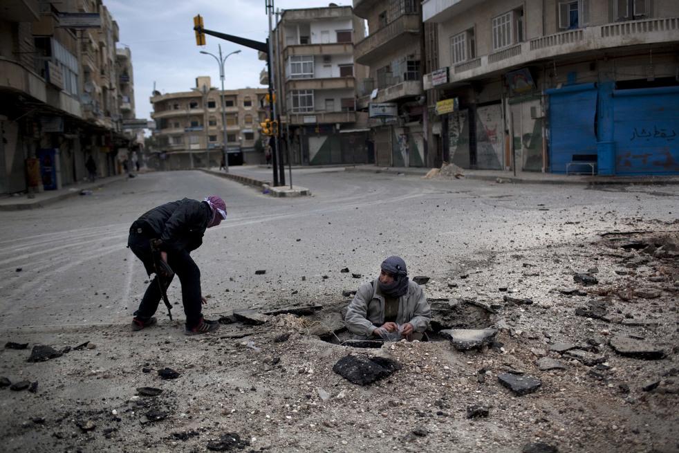 fleeing syria 08 Гражданская война в Сирии