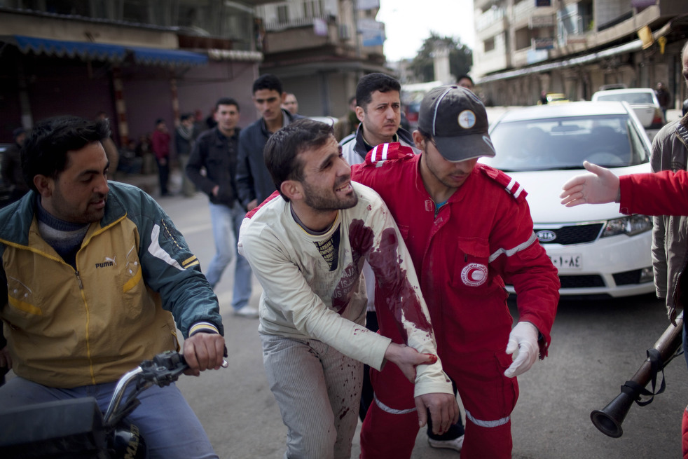 fleeing syria 11 Гражданская война в Сирии