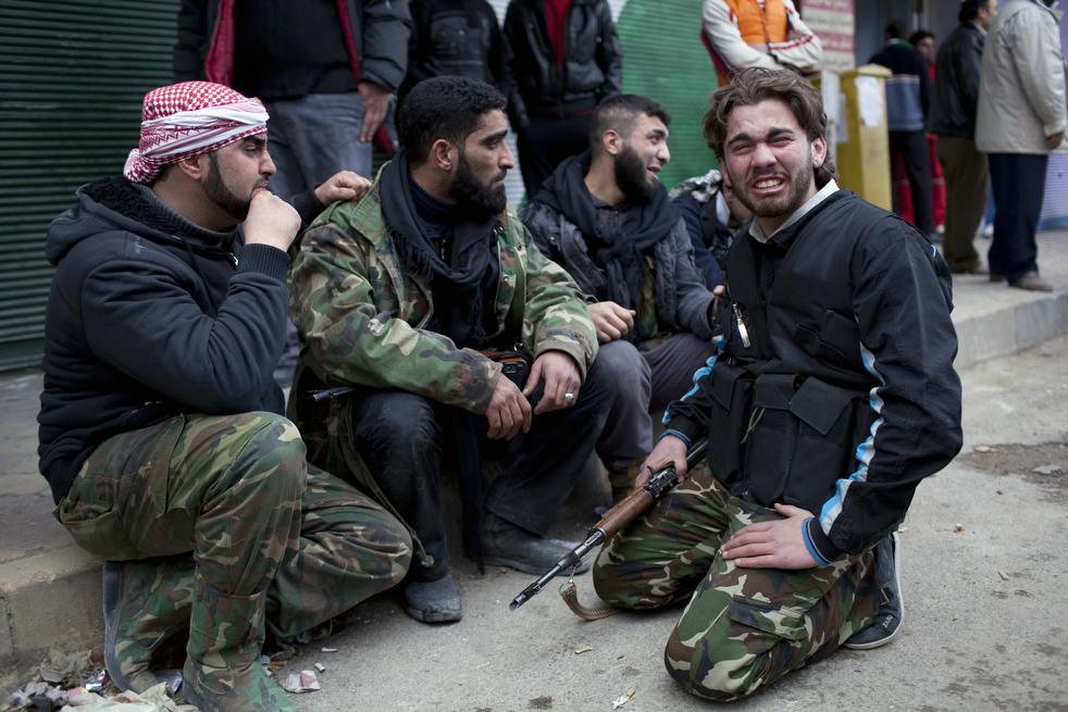 fleeing syria 13 Гражданская война в Сирии