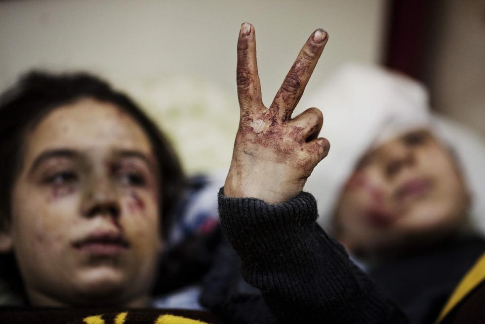fleeing syria 14 Гражданская война в Сирии