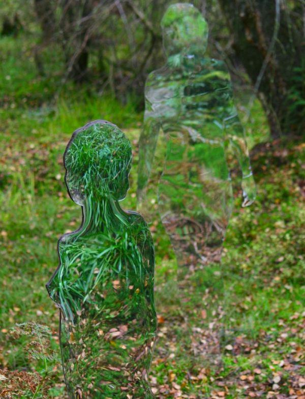 iskustvo 0003 Скульптуры призраки в шотландском лесу