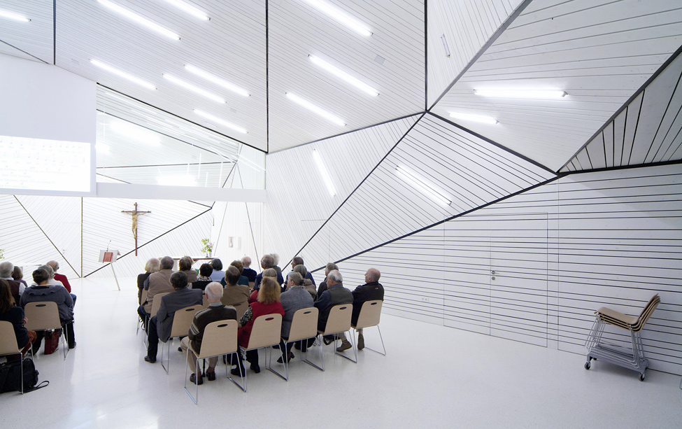 modernov Религия может быть стильной: в Австрии построили футуристическую церковь