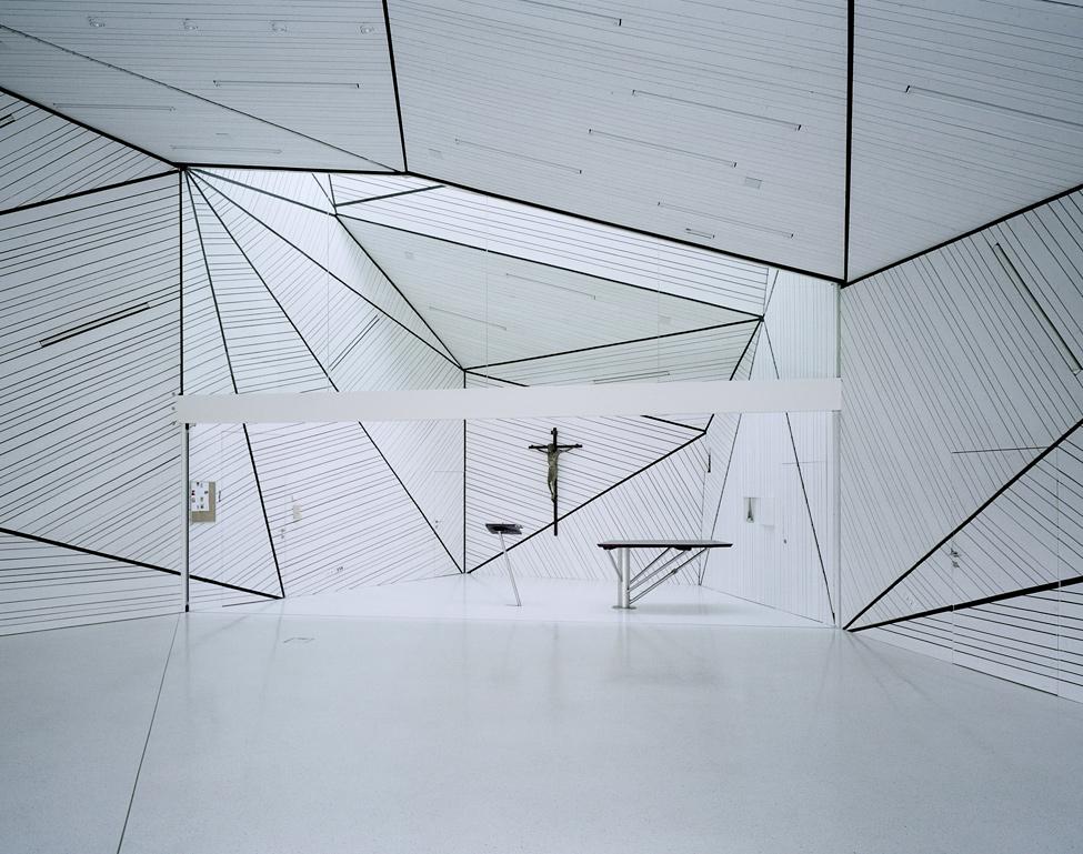modernow Религия может быть стильной: в Австрии построили футуристическую церковь
