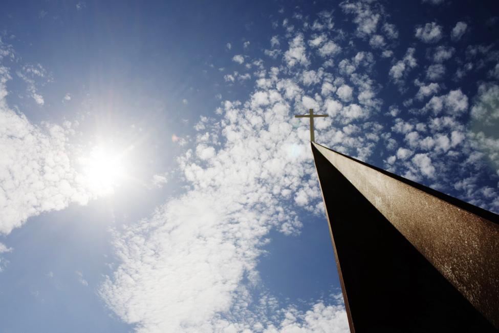 modernp8 Религия может быть стильной: в Австрии построили футуристическую церковь