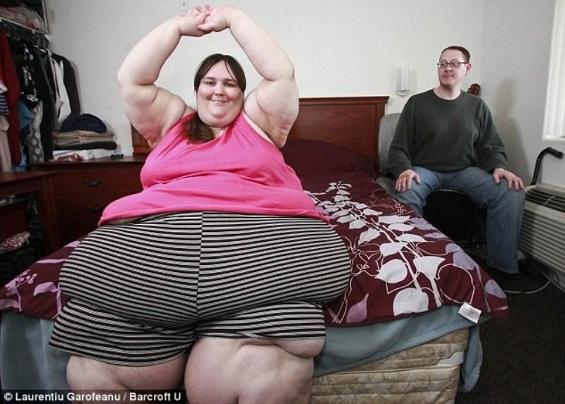 original 002 Самая толстая женщина Британии выходит замуж за повара