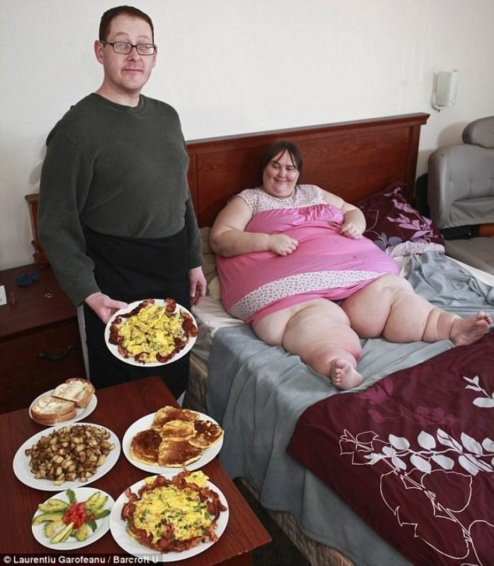 original 004 Самая толстая женщина Британии выходит замуж за повара