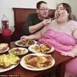 Самая толстая женщина Британии выходит замуж за повара