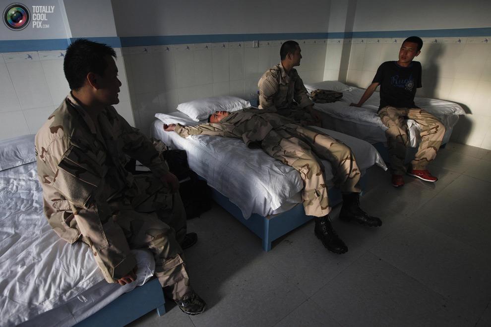 pic 0033 Как готовят телохранителей в Китае