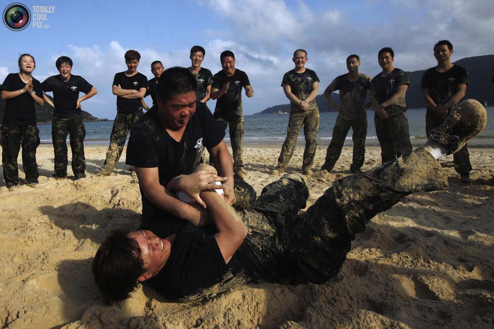 pic 0053 Как готовят телохранителей в Китае