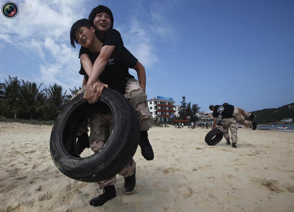 pic 0083 Как готовят телохранителей в Китае