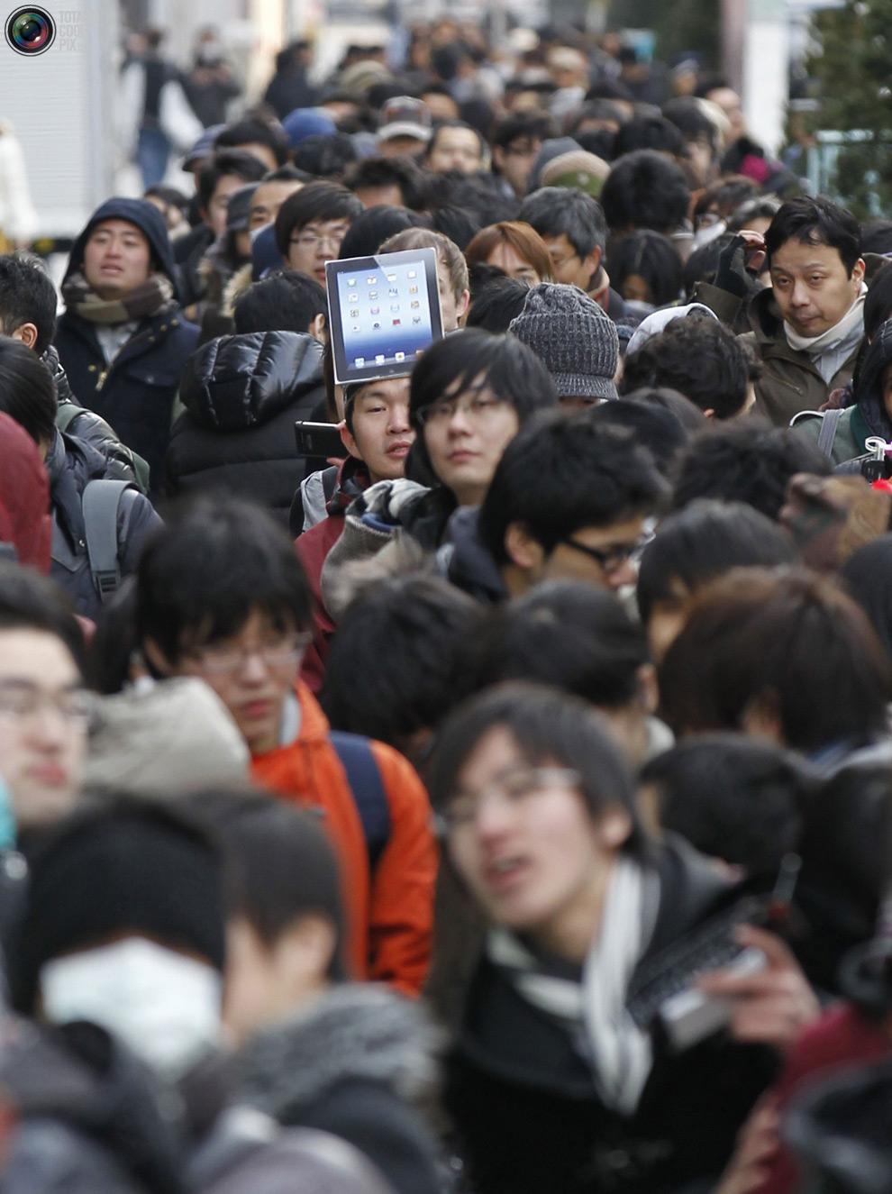 pic 0090 Новый iPad 3 вызвал ажиотаж во всем мире